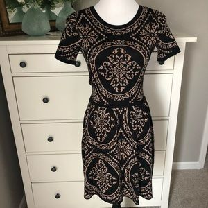 NWOT. Patterned Sweater Dress.